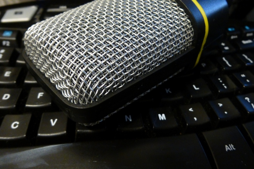 square-microphone-on-keyboard